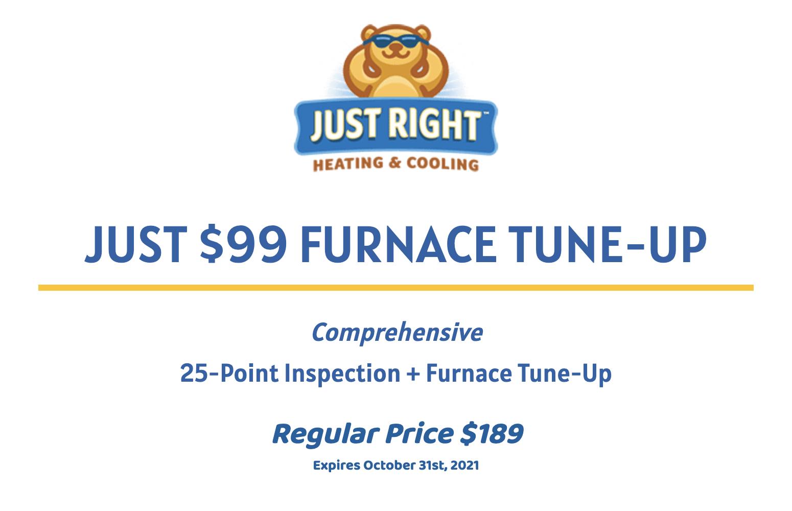99 furnace tune up coupon.