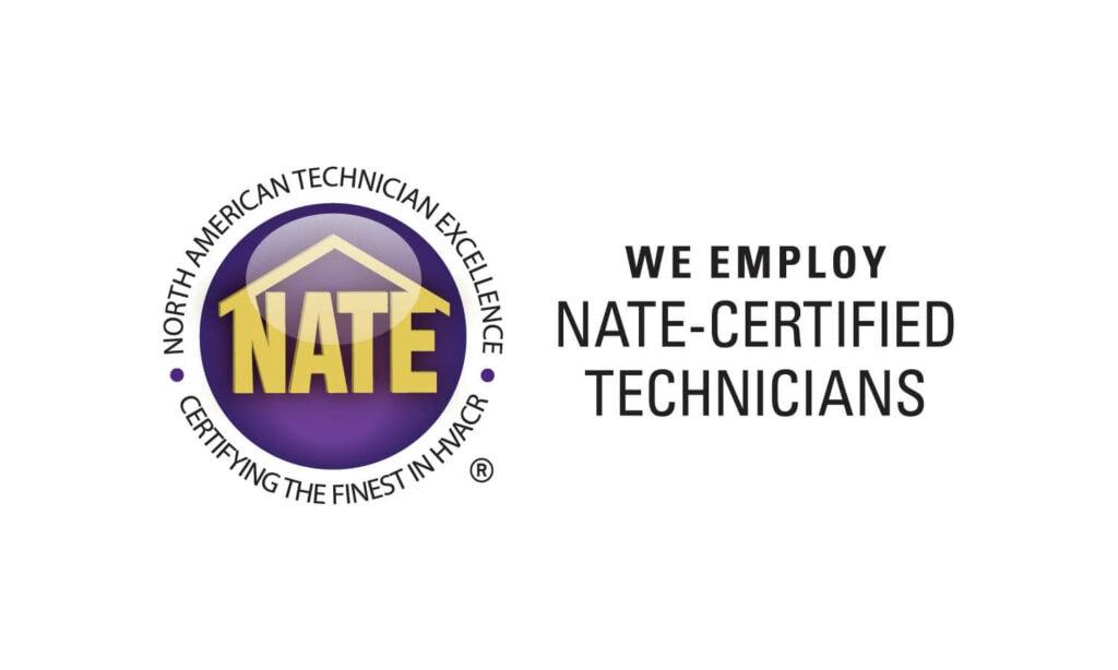 Nate Certified Technicians.