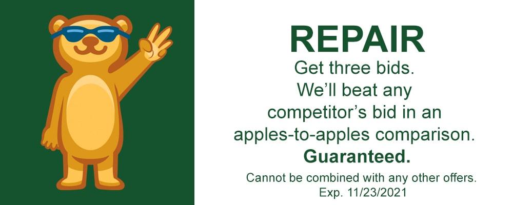 repair coupon.